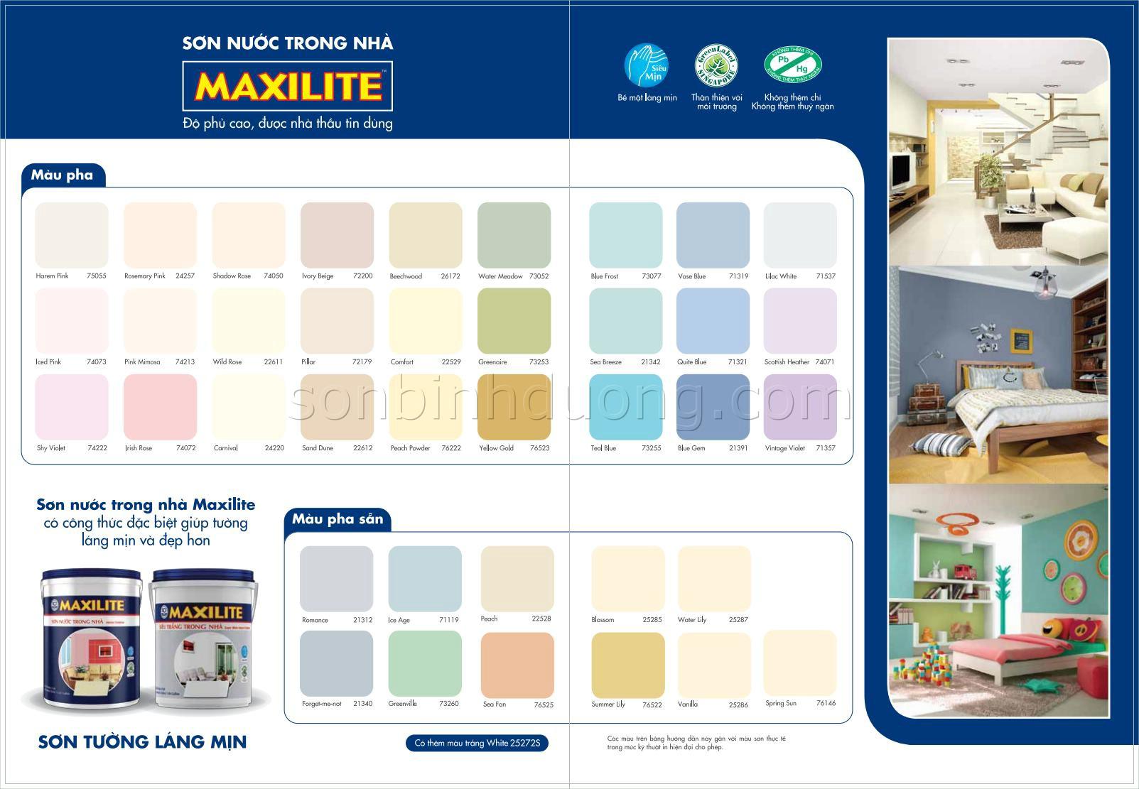Xem hình đầy đủ MAXILITE Trong nhà 5L